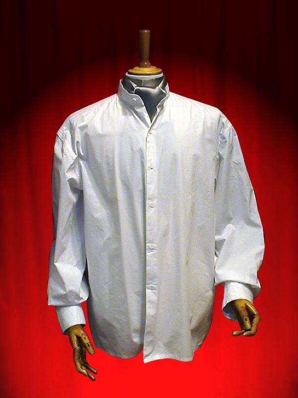 chemise col mao theatrhall paris achat vente vetements epoque theatre spectacle chemise. Black Bedroom Furniture Sets. Home Design Ideas