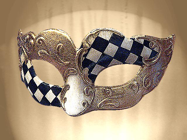 Colombine decorado theatrhall compra venta traje - Mascaras venecianas decoracion ...
